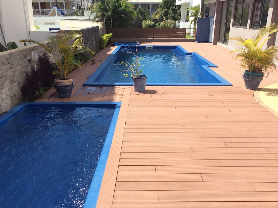 Pool, Children Pool and Jacuzzi of Compound