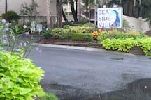 Entrance to SeaSide Villas