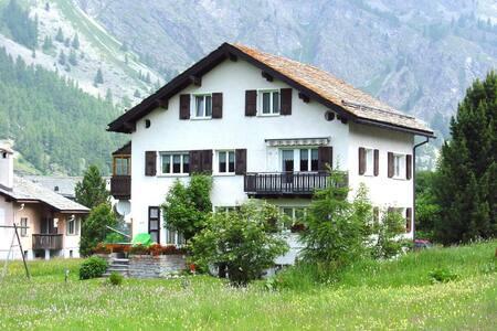Chesa Sulagl, 2-Zimmer-Wohnung Sils - Sils im Engadin - Apartment