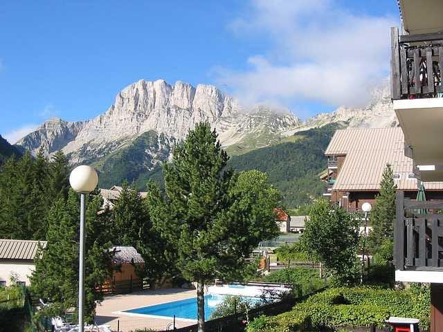Appart pour 6, ski,rando,piscine chauffée,tennis - Gresse-en-Vercors - Appartement