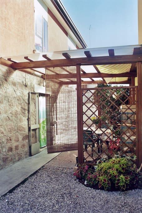 Entrata Gazebo Gazebo Entrance