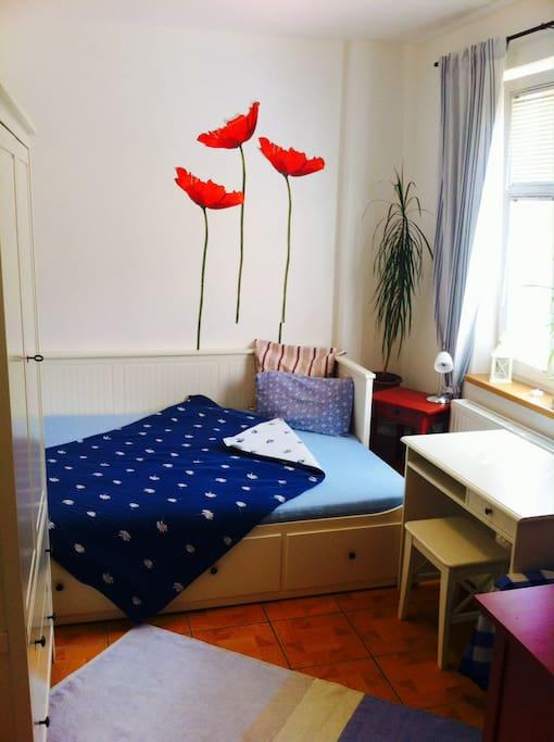 Pokoj bianco - double bed 160 x 200 cm
