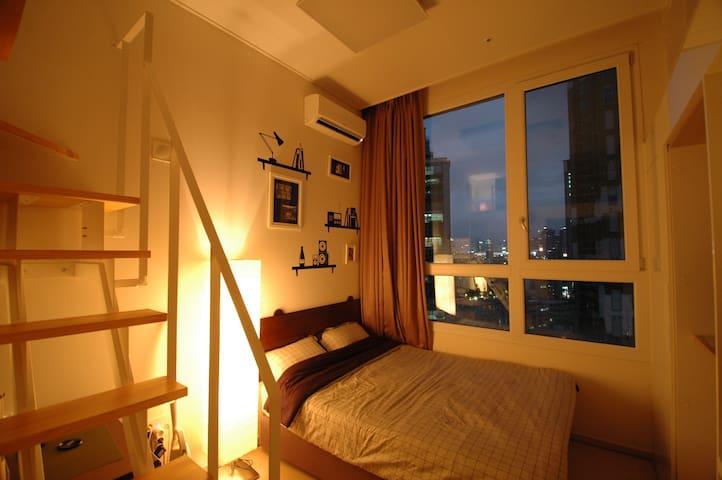 中文咨询 [V] Center of Myeongdong&Hongdae - Yongsan-gu - Apartamento