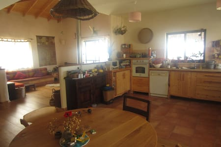 lovely house- available for weekends and holidays - Kibbutz Harduf - Ev