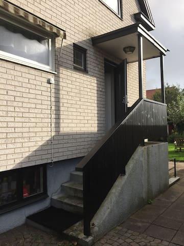 A villa near central Halmstad.