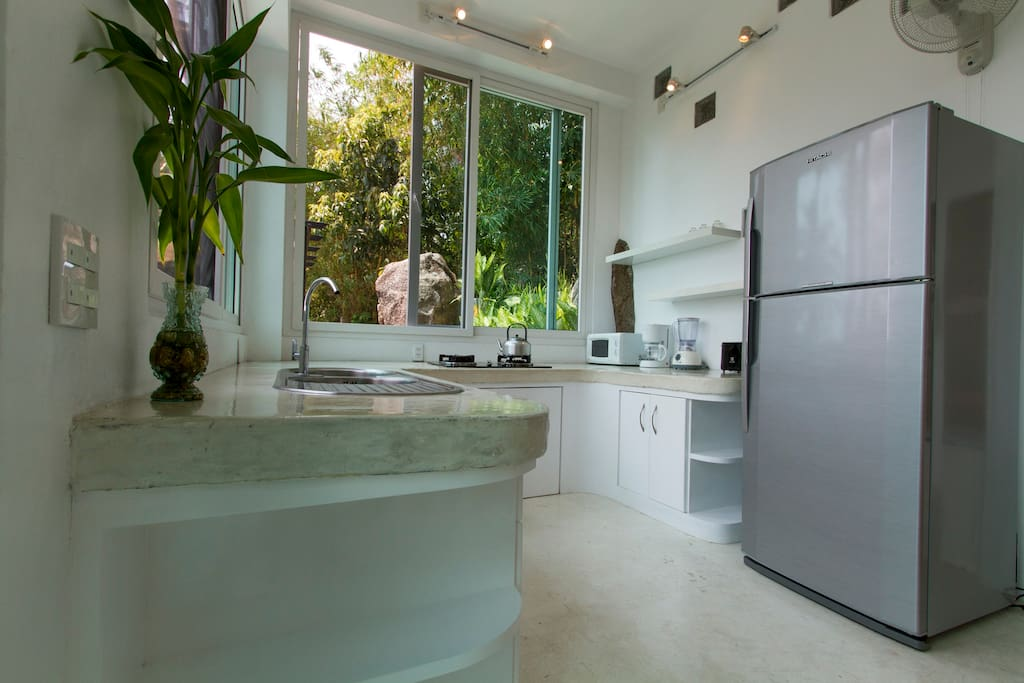 "The ""Gardenia"" villa sports a full kitchen!"