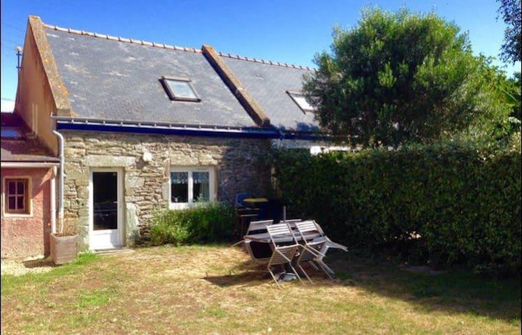 Charmante maison avec jardin - Groix  - Haus