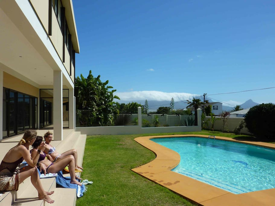 Swim and relax at the 10 meter sparkling pool