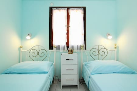 beautiful nature, clear blue sea    - Maslinica - Casa
