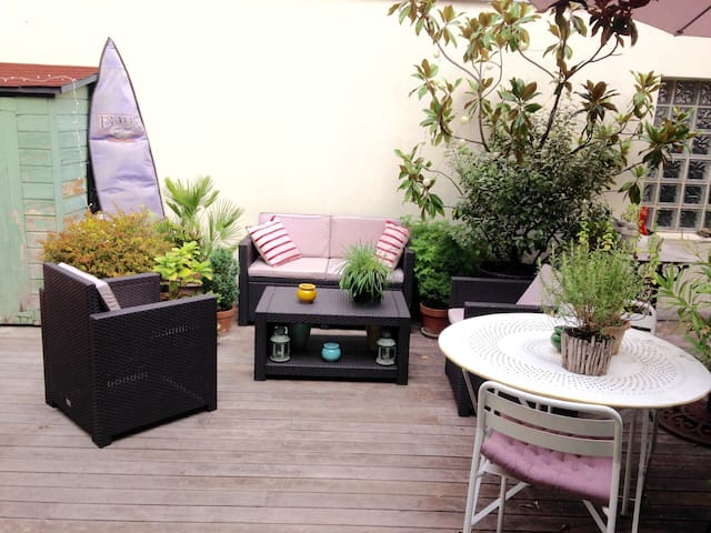 Loft appartement terrasse - Paris