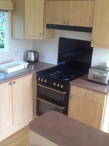 Cosy caravan in Peacful location - Llangefni - Apartment