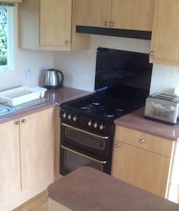 Cosy caravan in Peacful location - Llangefni - Apartament