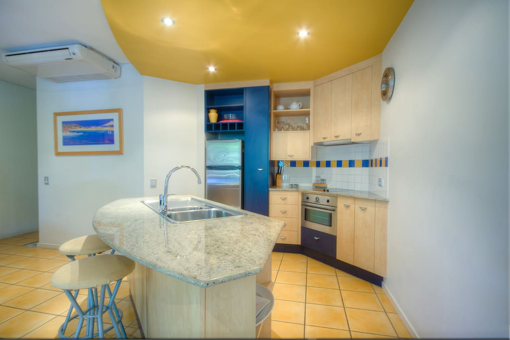 Fully self contained modern kitchen