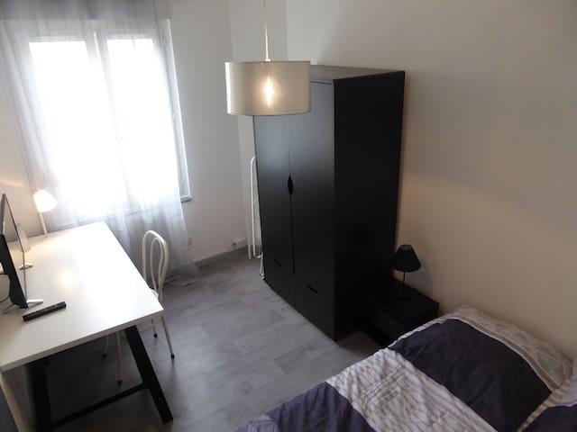 chambre et bureau
