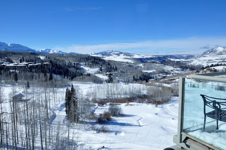 Peaks  746 - 2bd/2.5bath Penthouse - Mountain Village - Apartment