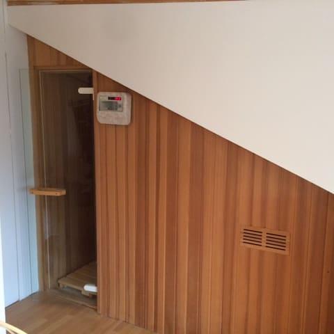 Modern Saunieren in der Wohnung