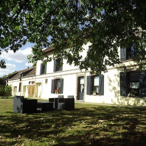 Chambre d'hôte Le Bois d'Ô - Saint-Maixme-Hauterive - Bed & Breakfast