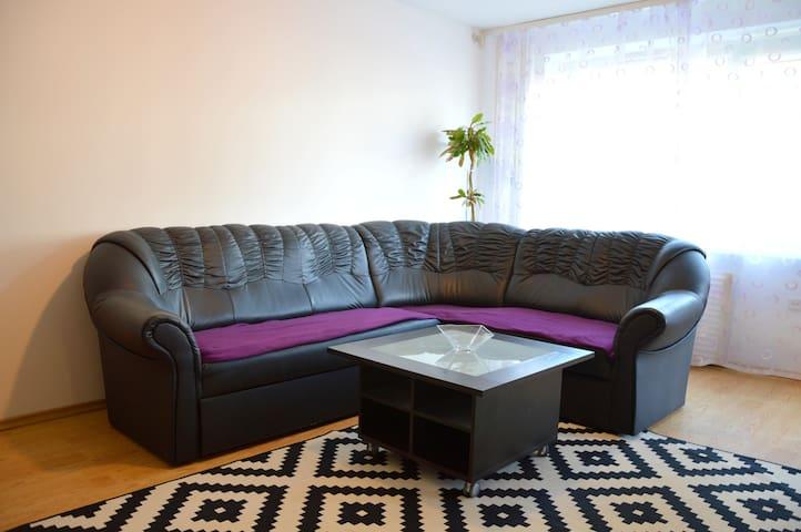 Large apartment with 2 bathrooms - Vilnius - Daire