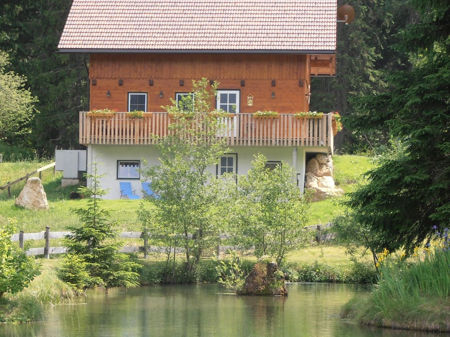 Ferienhaus am Mühlbach , Nordseite