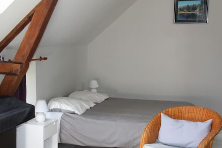 Chambre avec salle d'eau privative - Thourie - Bed & Breakfast