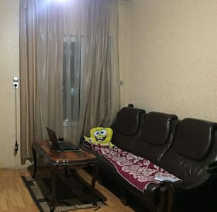 Private room on the central avenue in Chiatura...