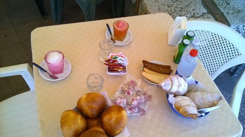 parte della colazione che potete degustare assecondo i periodi di stagione