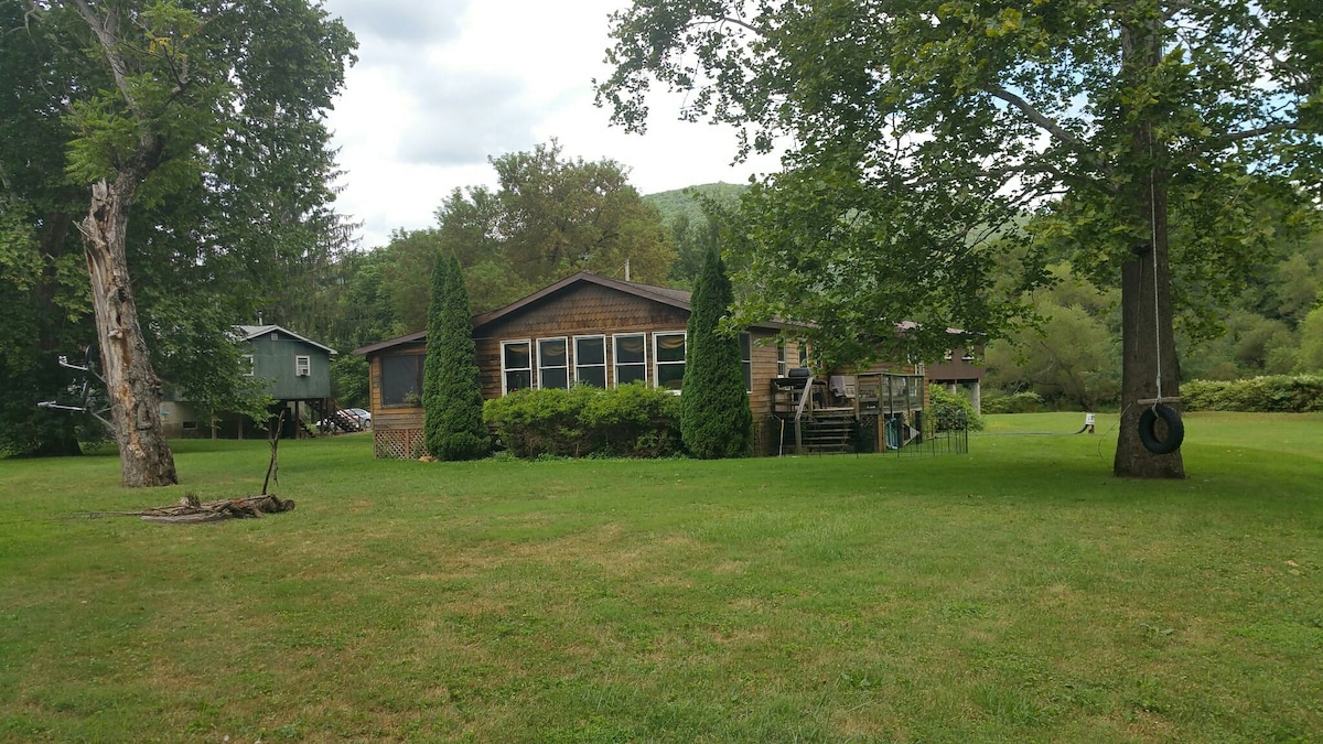 A Beautiful Cabin On Pine Creek   Cabins For Rent In Wellsboro,  Pennsylvania, United States