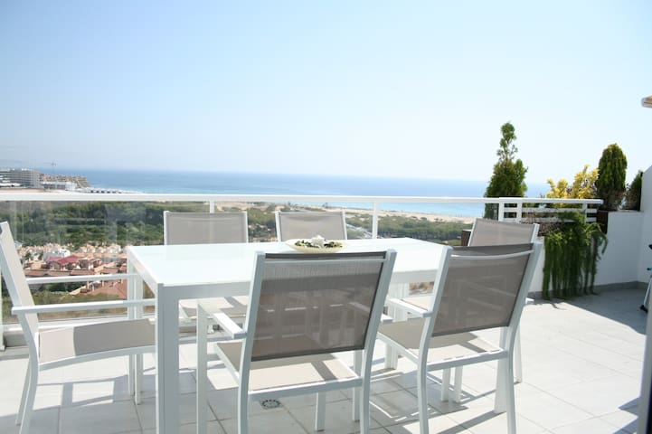 Luxury Apartment with sea view - Gran Alacant