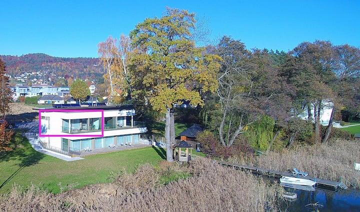 Luxus Apartment mit Seeblick und Balkon - Top 4
