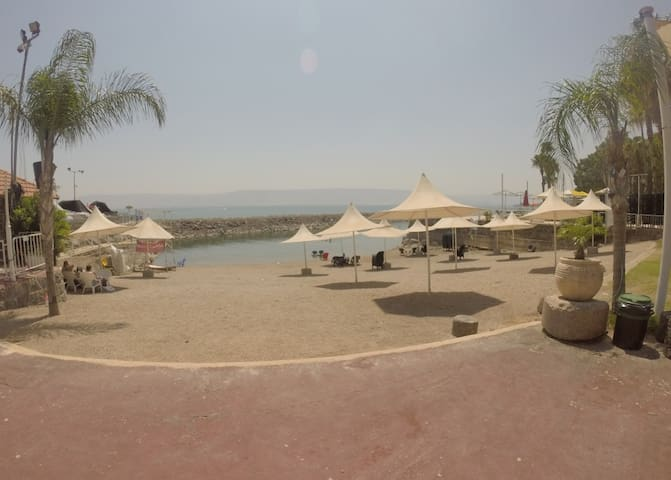 On the beach!!! - Tiberias - Appartement