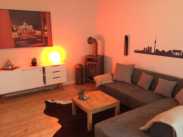 Charming and cozy 2-room-apartment - Berlino - Appartamento