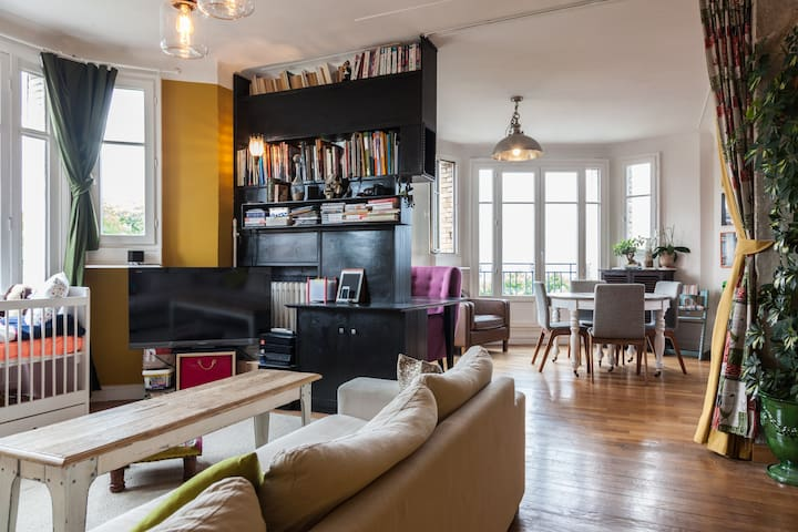 Charming parisien apt&good location - Paris - Apartment