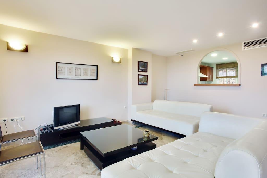 Living Room looking towards Kitchen