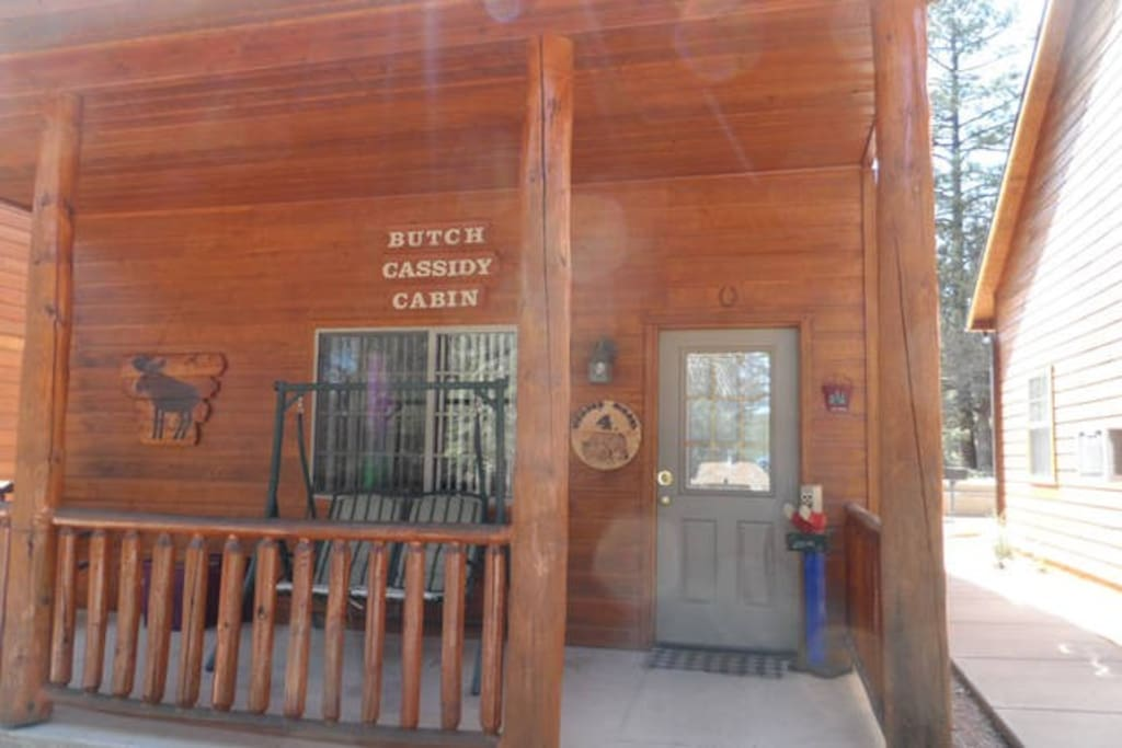 Wooden nickel cabin 4 cabanes louer payson arizona for Wooden nickel cabins