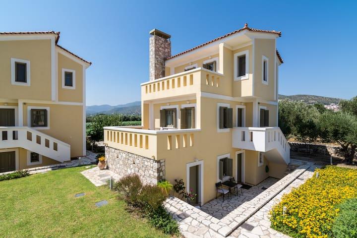 brand new villa, lovely ocean view