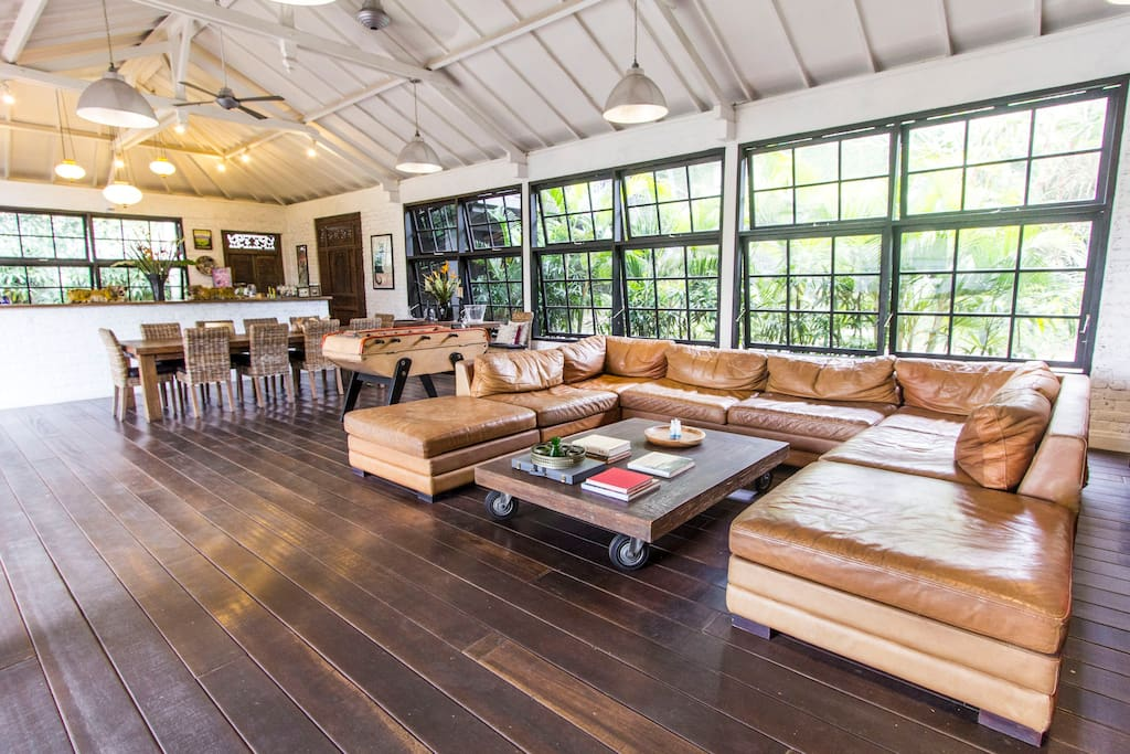 Massive living room 120sqm