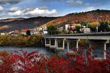 Historic Hinton, WV- Where friends and rivers meet.