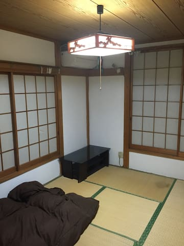 The 2nd floor of a Japanese-style Private room, you can relax.