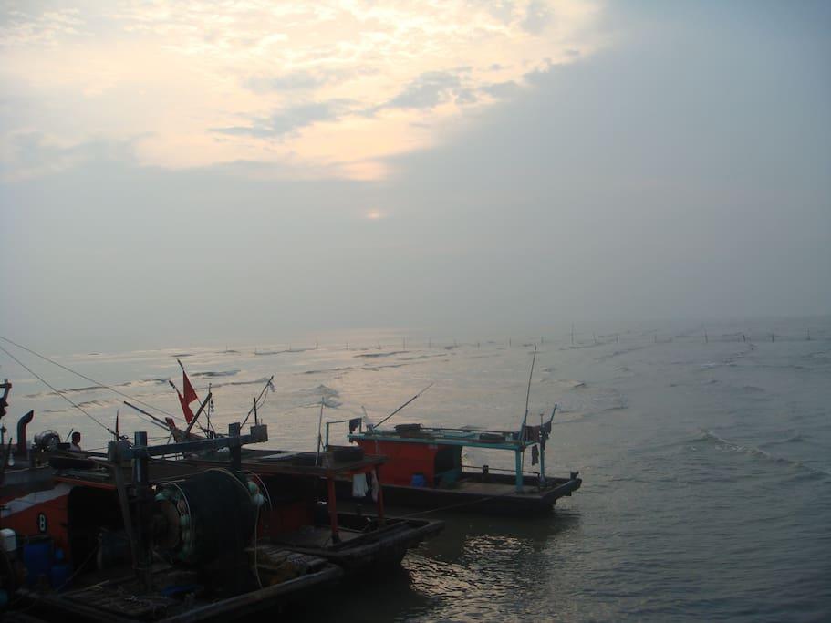 Tanjong Sepat Village Sunset