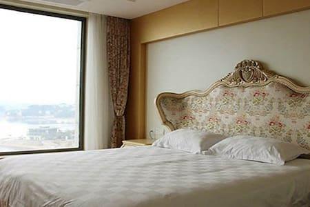千岛湖伯爵湖景公寓 一室单间无烟房 - Appartamento