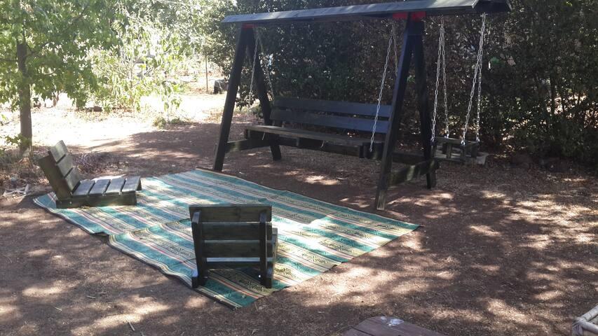 Zimmerina For 2 In Yonatan, Golan - Golan Heights - 통나무집