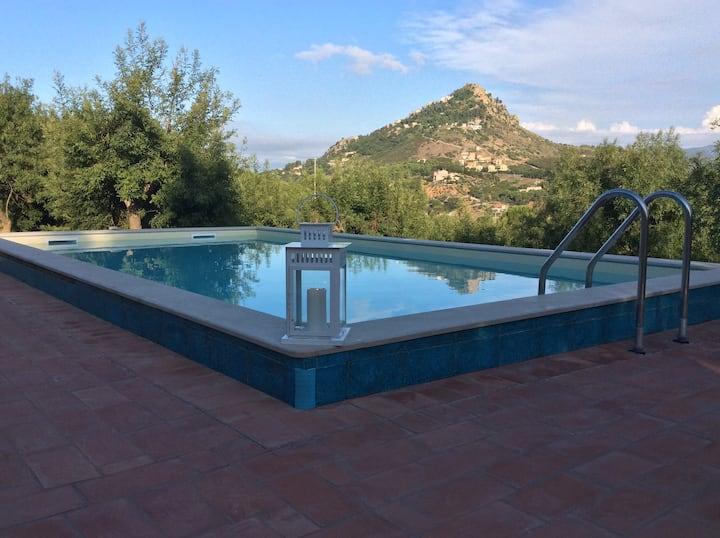 Villa il Pagliaio near Cefal