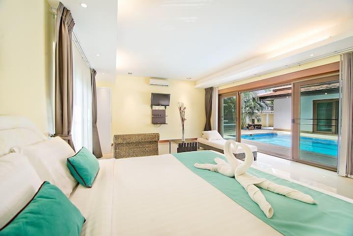 Bedroom Pool Access