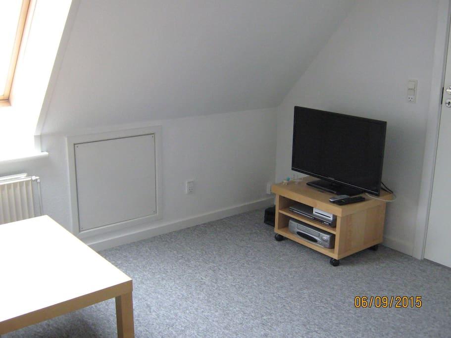 TV på værelset