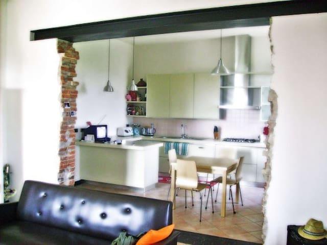 La casa sul fiume - Reggiolo - Appartement