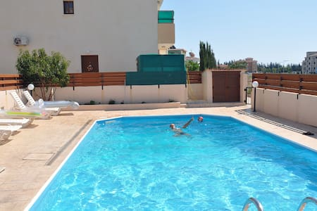 Paphos Apartment with Swimming Pool - Pafos