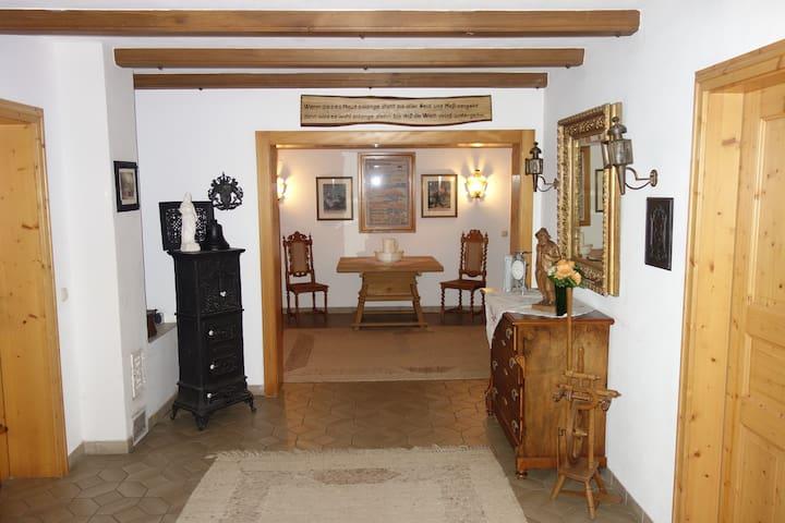 Idyllisches Haus in ruhiger Lage 1 - Schollbrunn - Rumah
