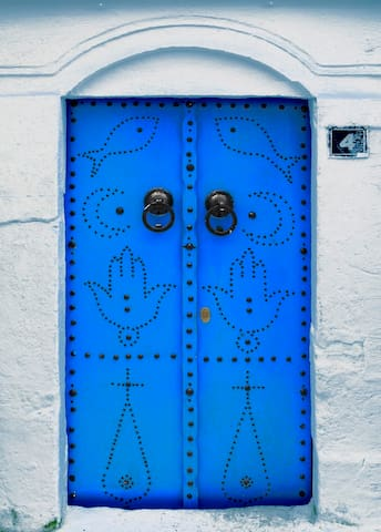 Mervelleux  maison tradicionelle - Hammamet - Ev