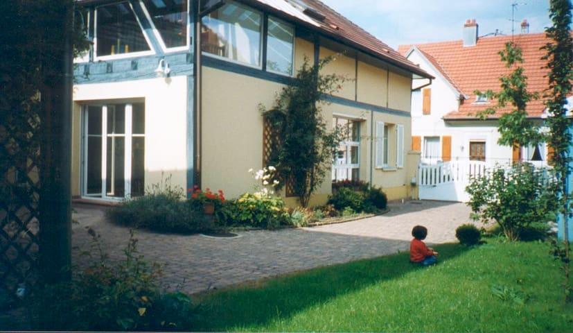 Maison-Loft 200M2 coeur vignoble - Uffholtz - Casa