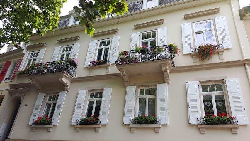 Schloss Apartment/Аппартамент в центре БаденБадеna
